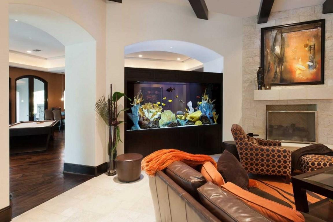 Аквариум в интерьере. Как выбрать аквариум для интерьера в доме