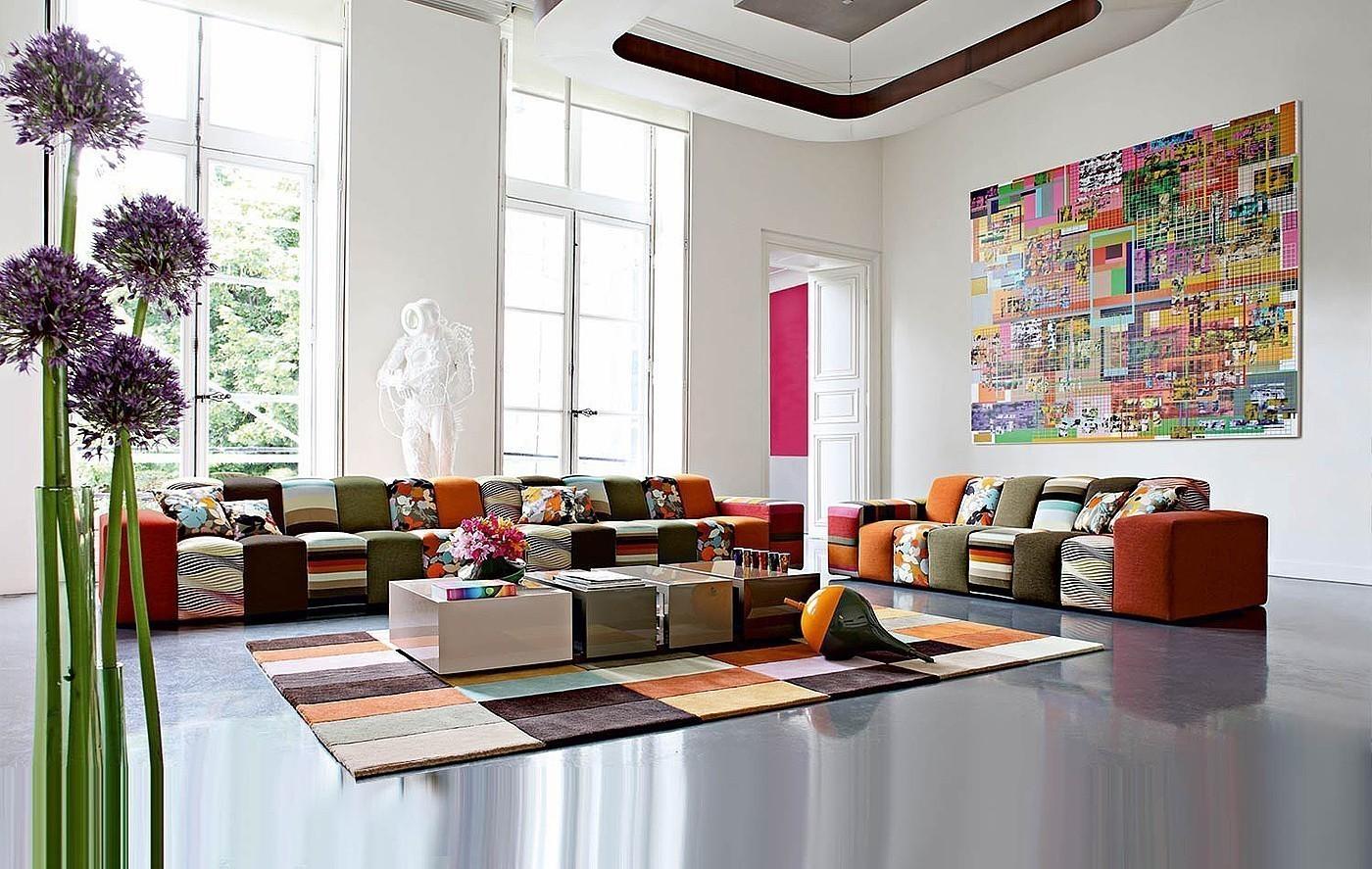 Дизайн интерьера в стиле авангард