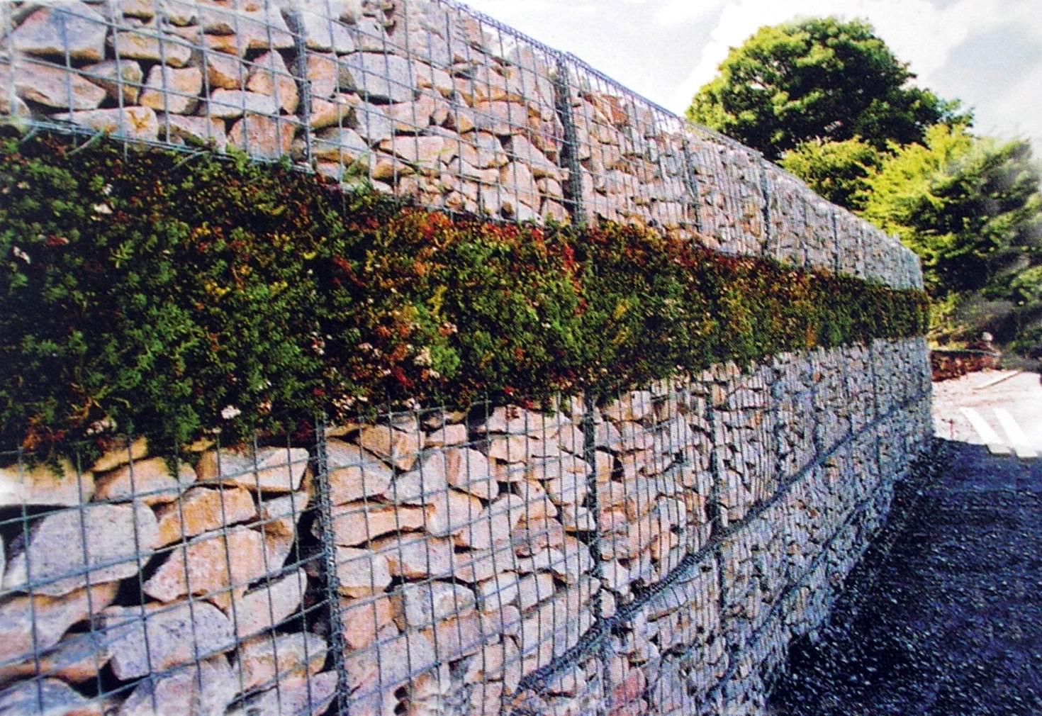 Подпорная стенка своими руками
