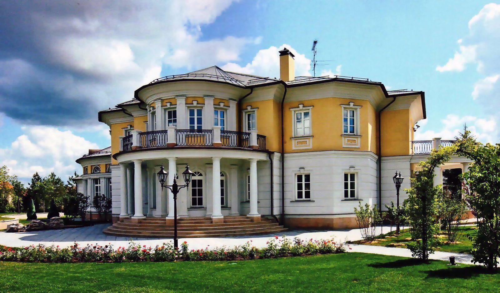 Ампир стиль в архитектуре
