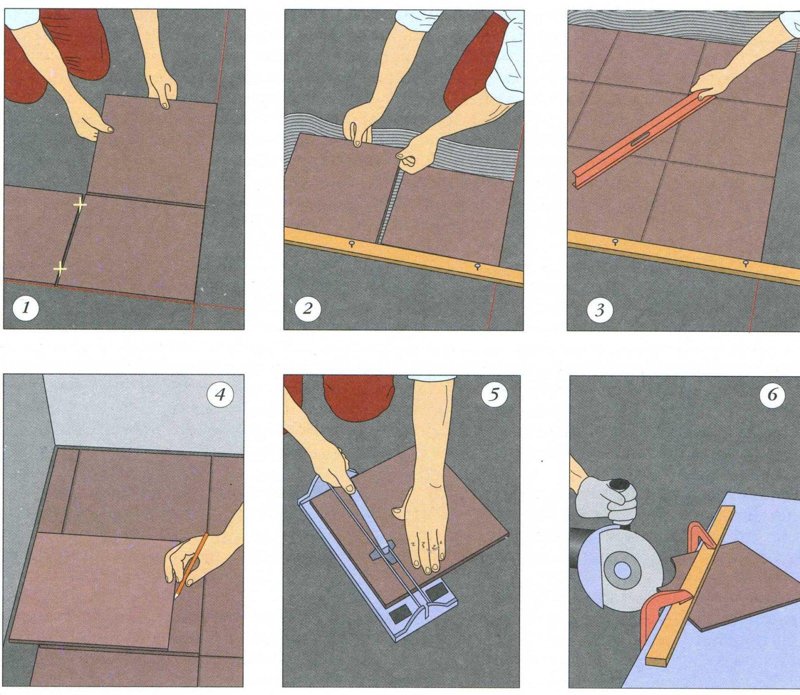 Как класть плитку