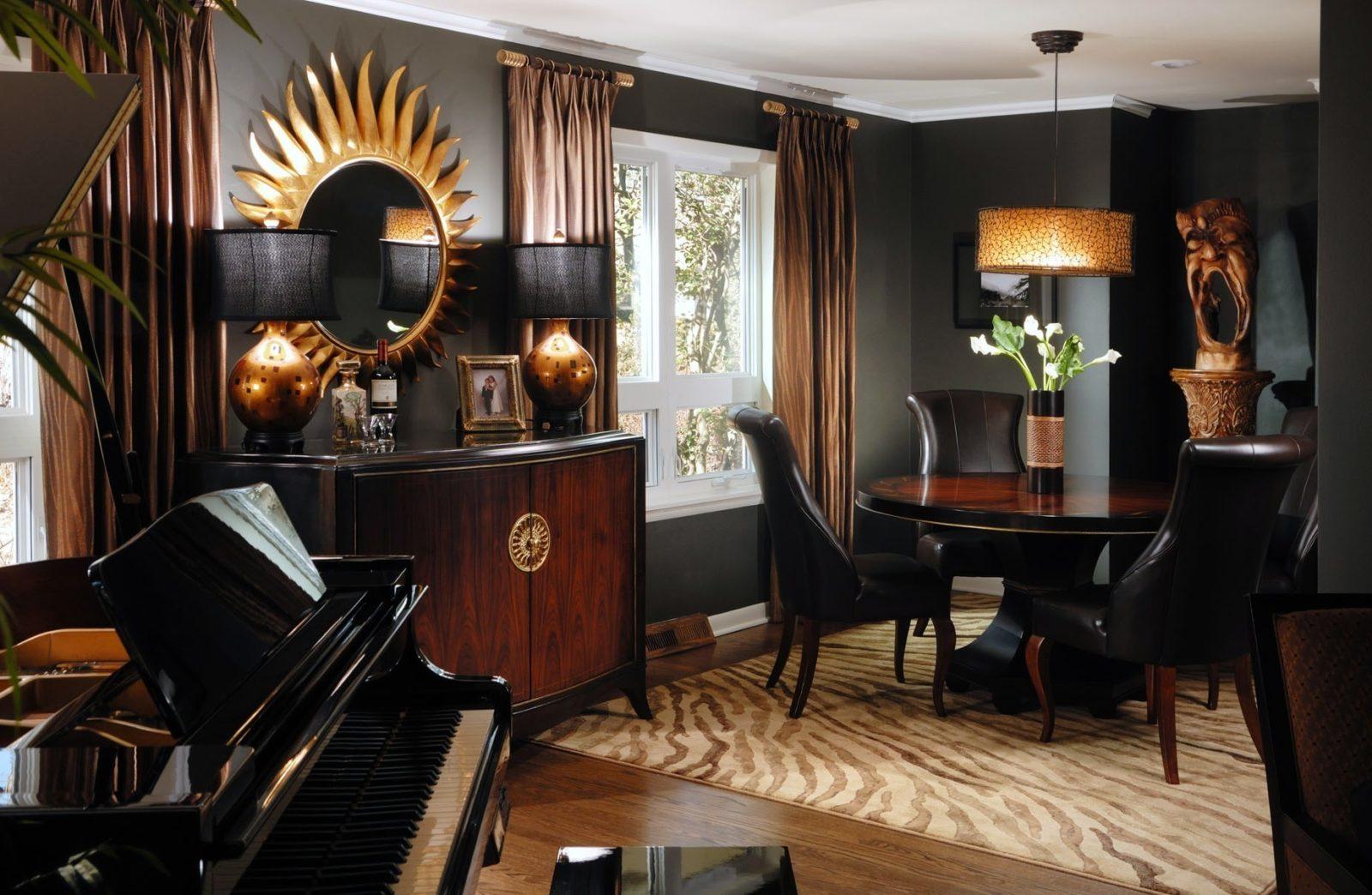 Квартира в африканском стиле. Африканский дизайн