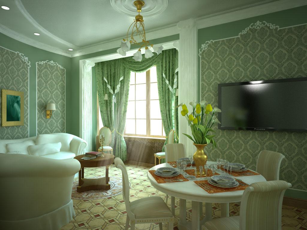 Эксклюзивный декор квартиры необычными обоями
