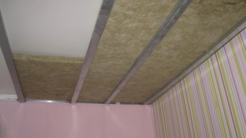Избавление от шума сверху. Материалы для звукоизоляции потолка