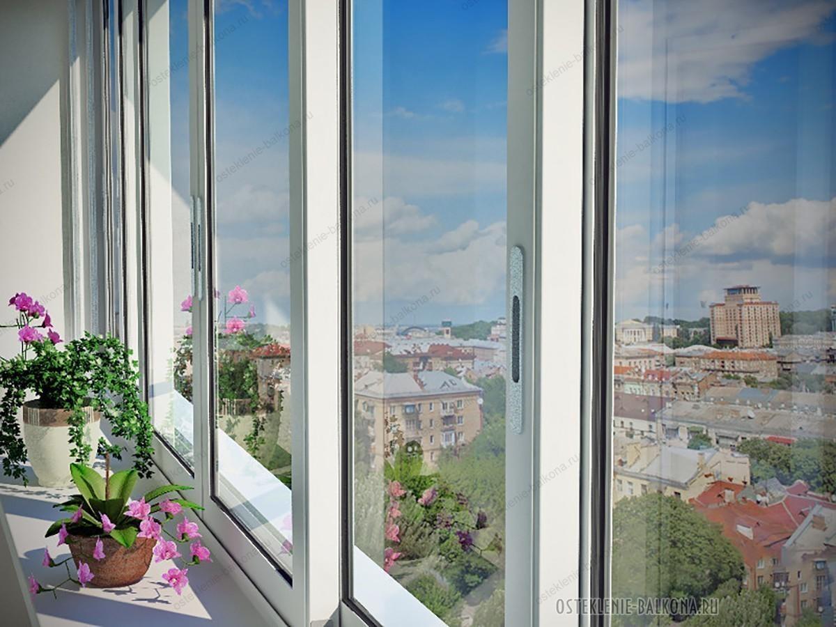 """Раздвижное остекление балконов - компания """"aluclimb - алюмин."""