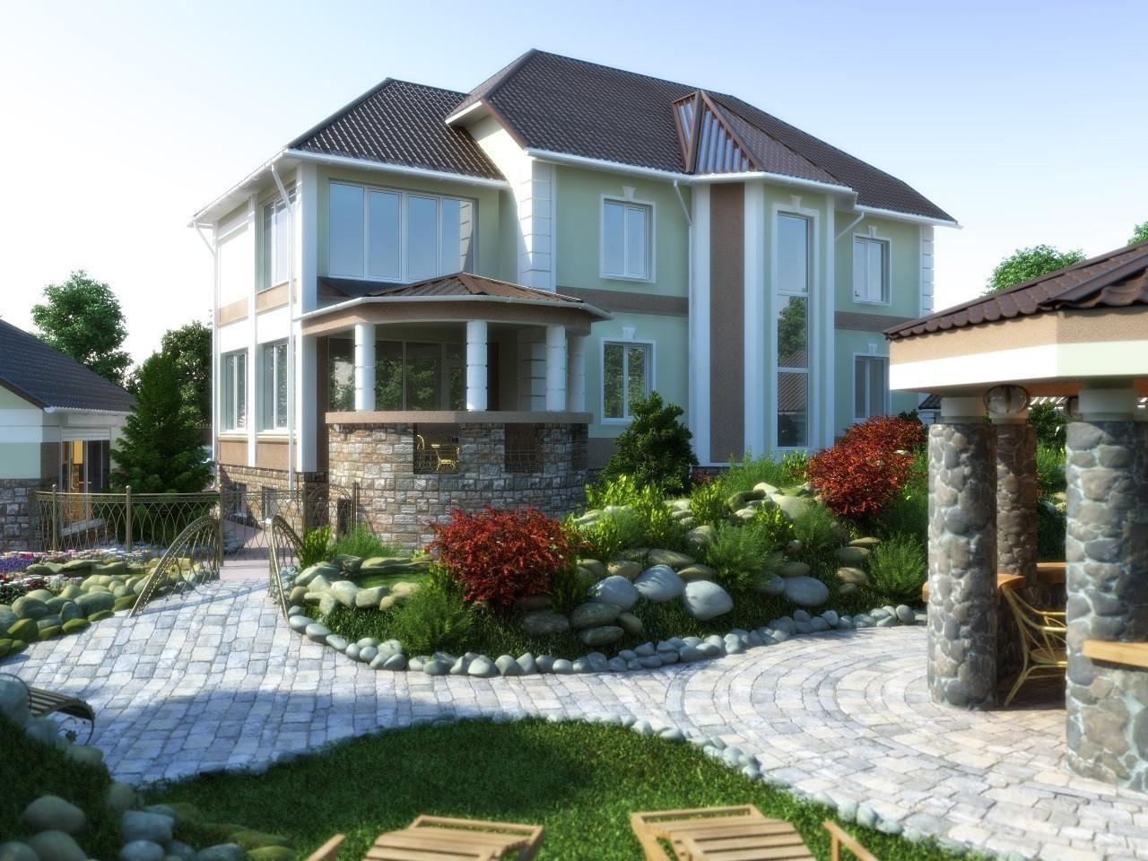 Признаки элитного коттеджа строительство загородного дома из кирпича