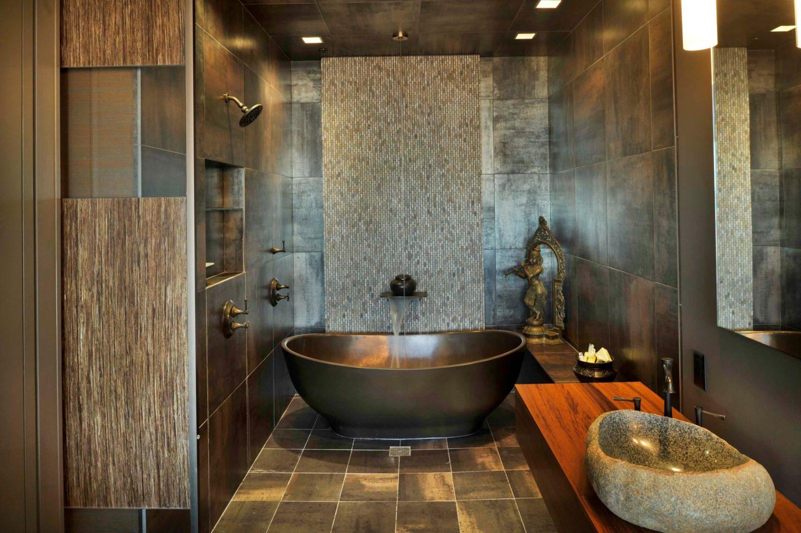 Стандартный комфорт ванной комнаты