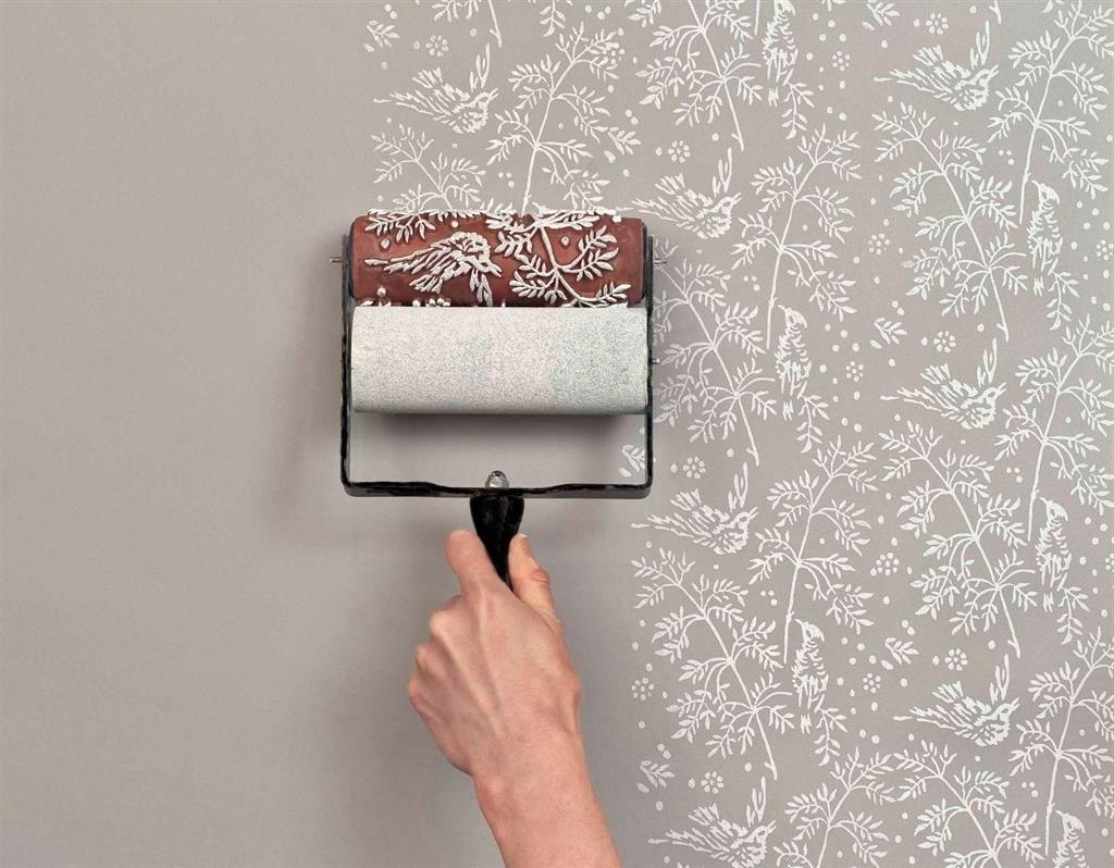 Устранение дефектов стен при помощи клея
