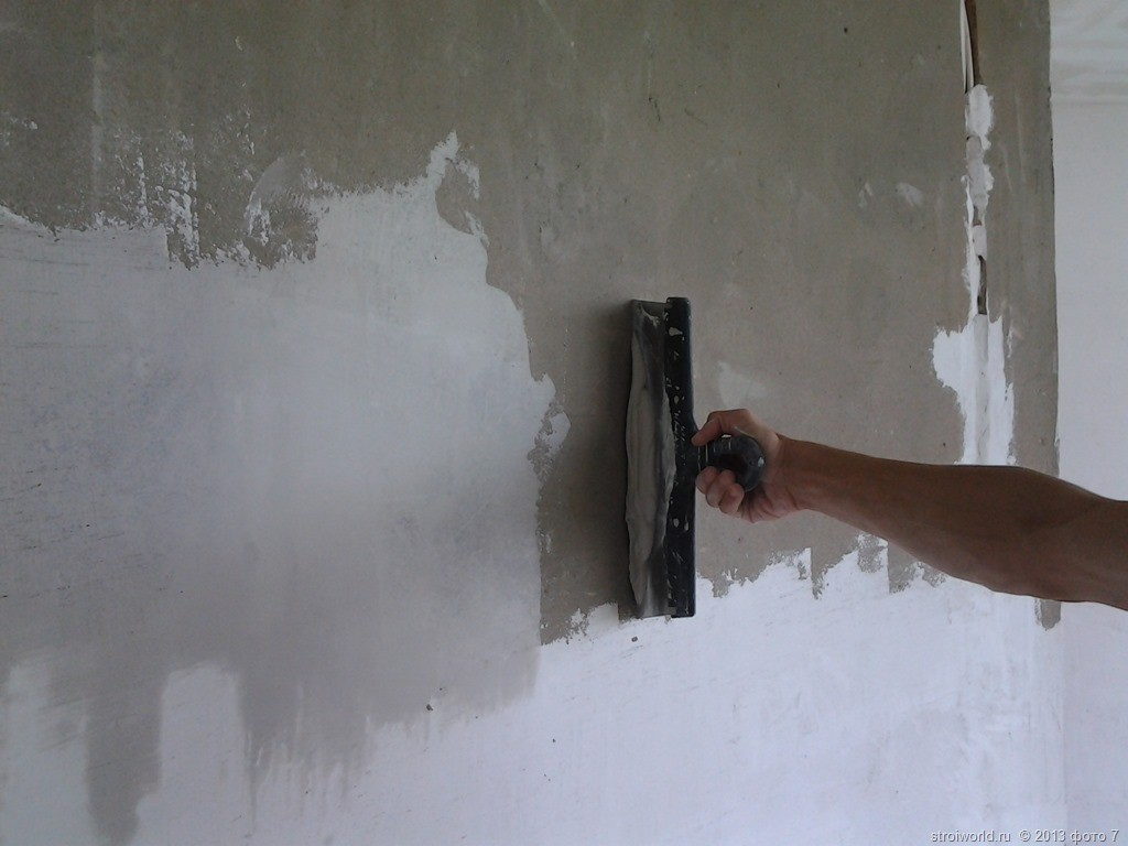 Как подготовить стену к дальнейшей отделке