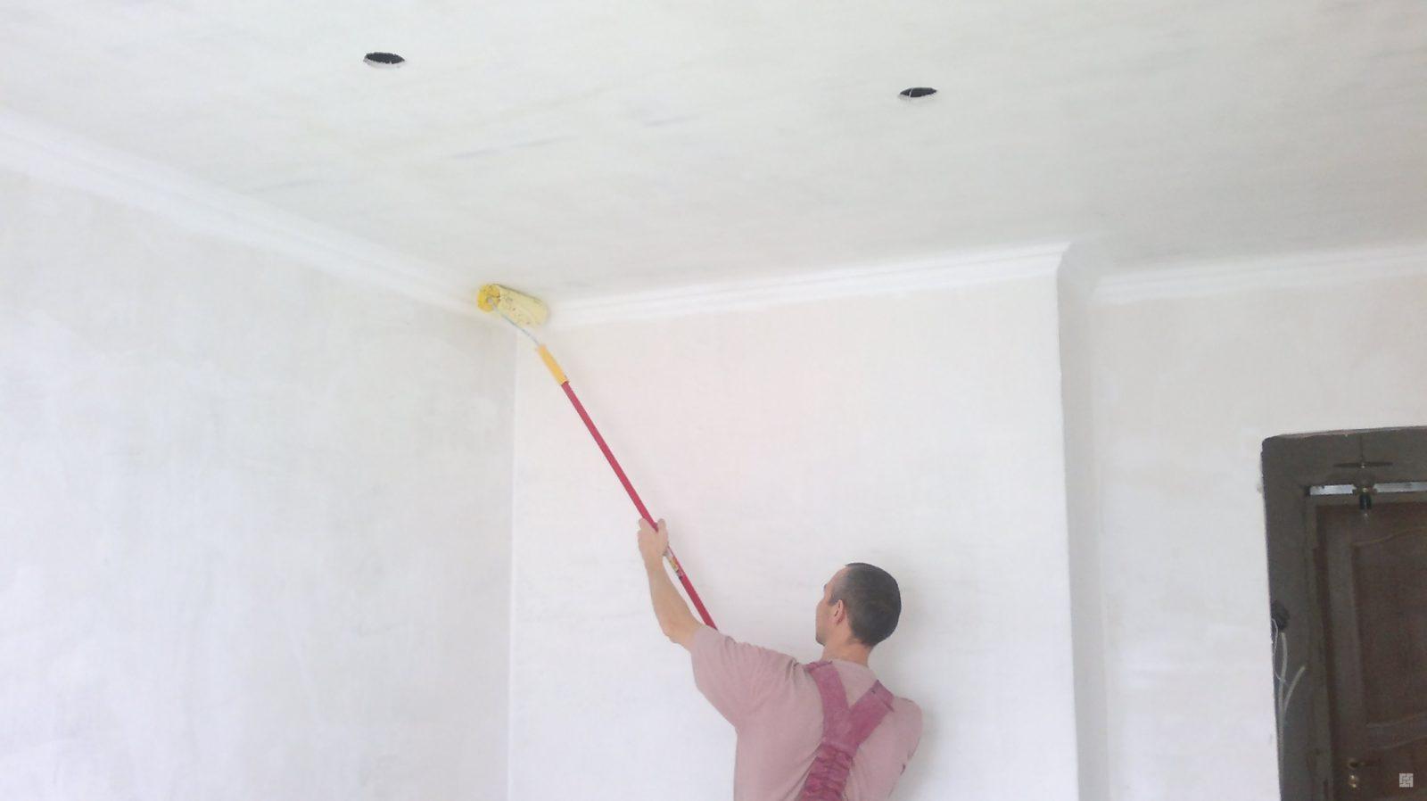 Побелка потолка: как сделать ее правильно