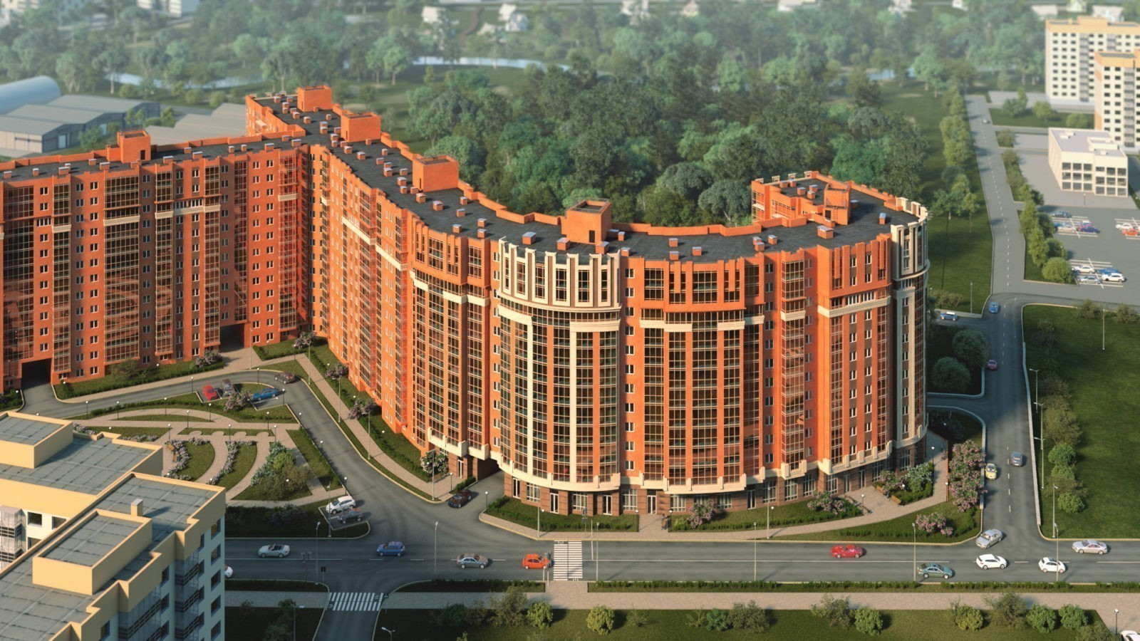 Строительство высотных жилых домов из кирпича и монолитного бетона: плюсы и минусы