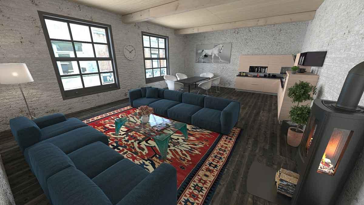 Чем обставить комнаты: пуфы, диваны, кровати