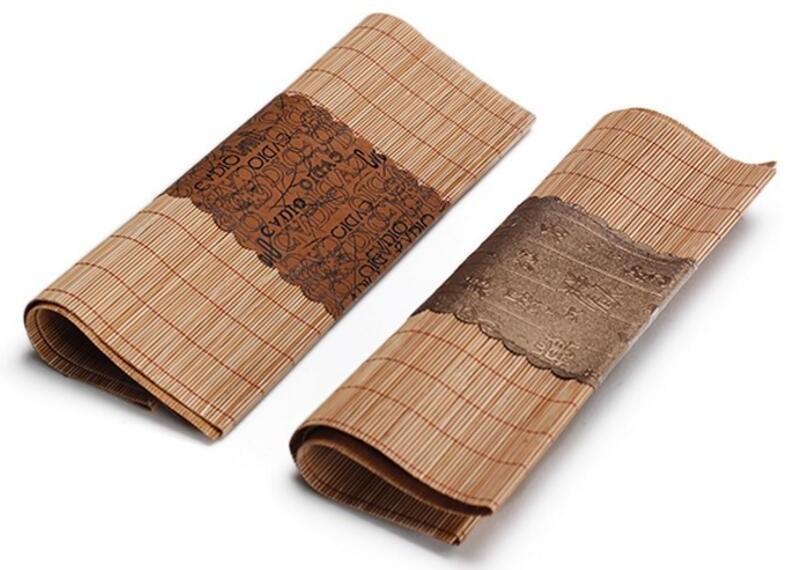 Бамбуковый коврик, как один из атрибутов чайной церемонии