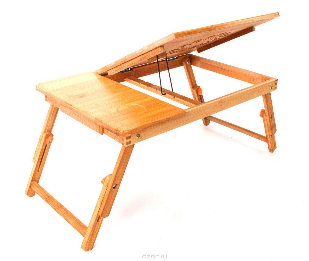Бамбуковый стол-трансформер. Эстетичность и практичность в одном изделии.