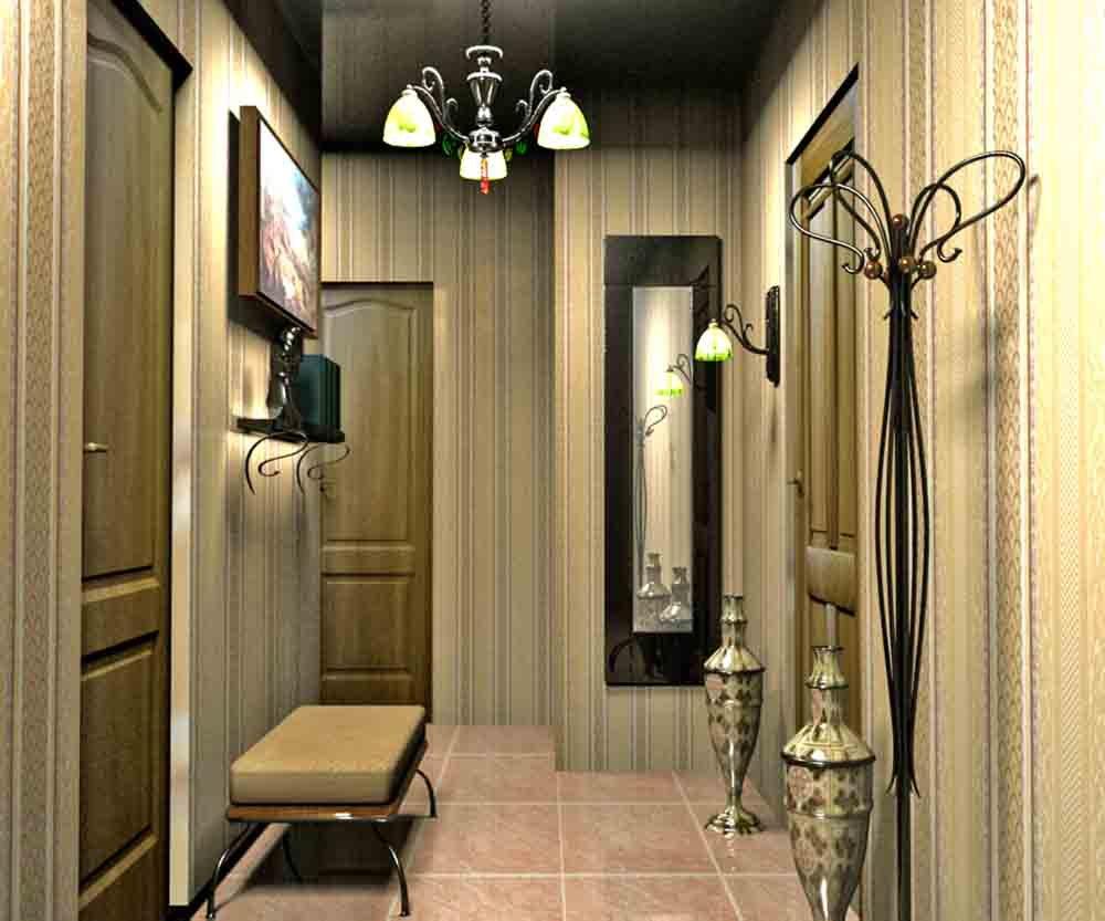 Интерьер коридора и выбор мебели