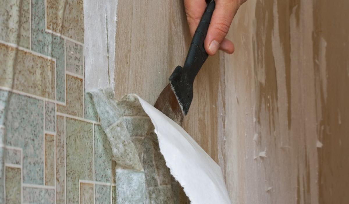 Как удалить обои со стен