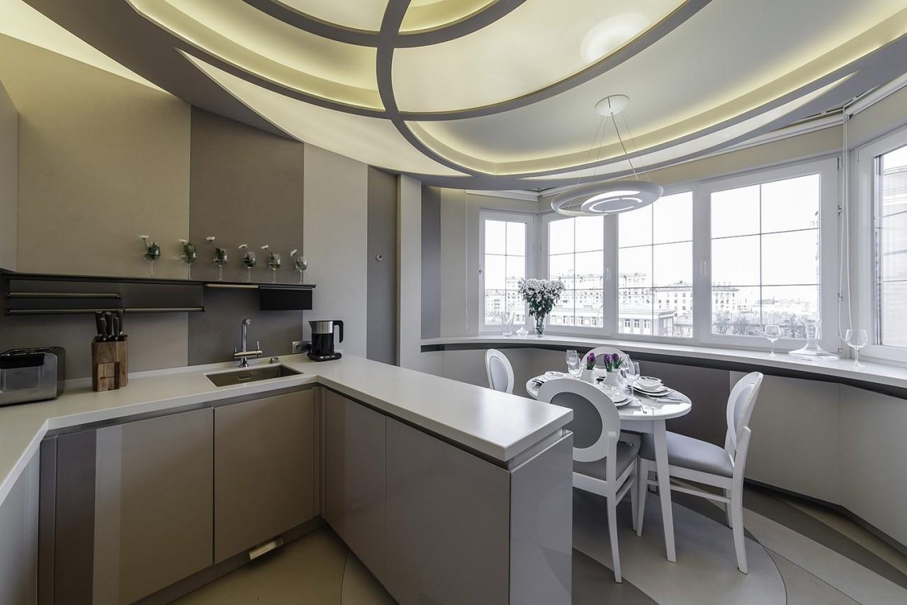 Перепланировка кухни: какие строительные смеси использовать