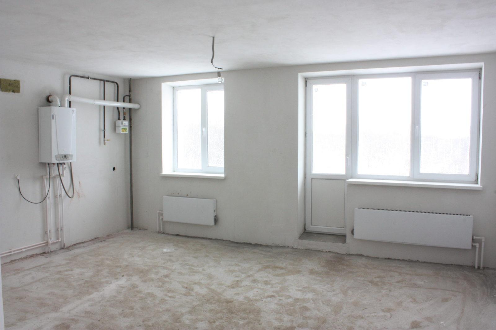 Покупка квартиры без отделки