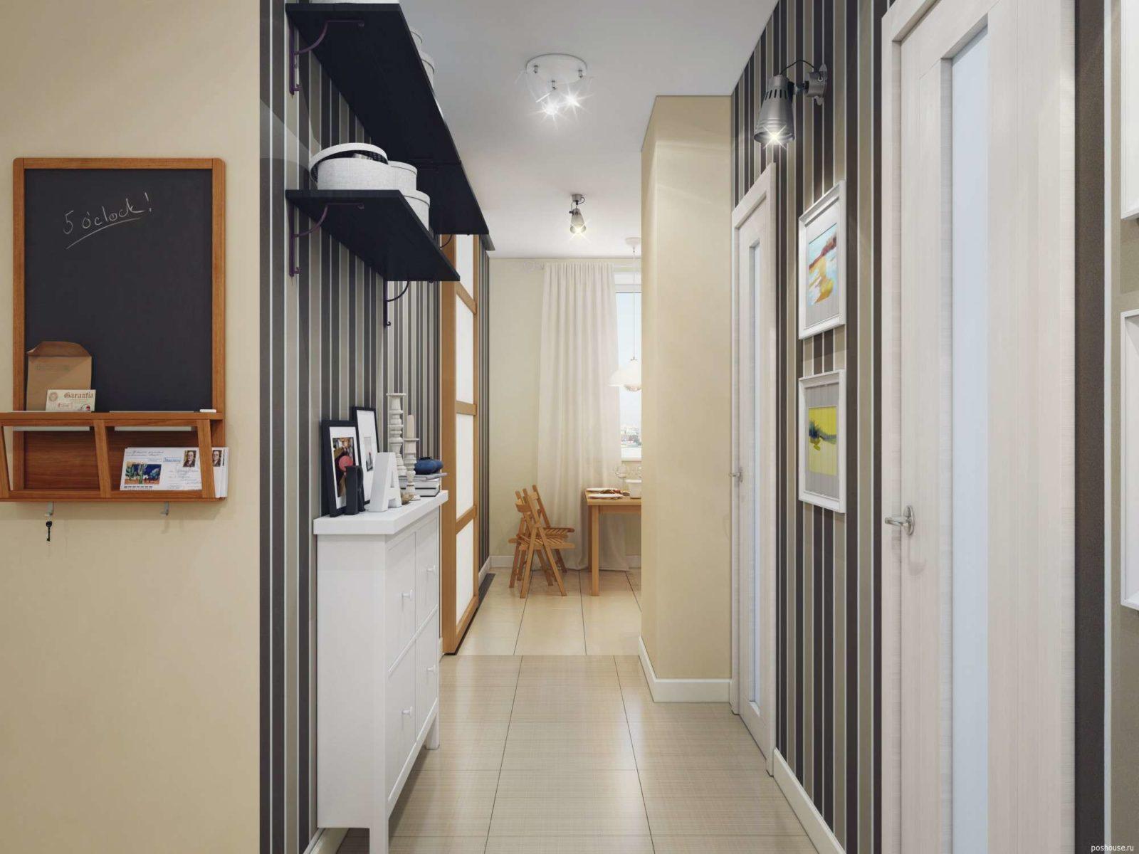 Практические советы по обустройству узкого коридора