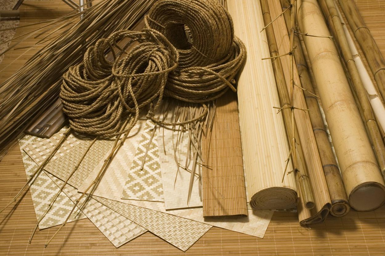 Рекомендации по наклеиванию бамбуковых обоев