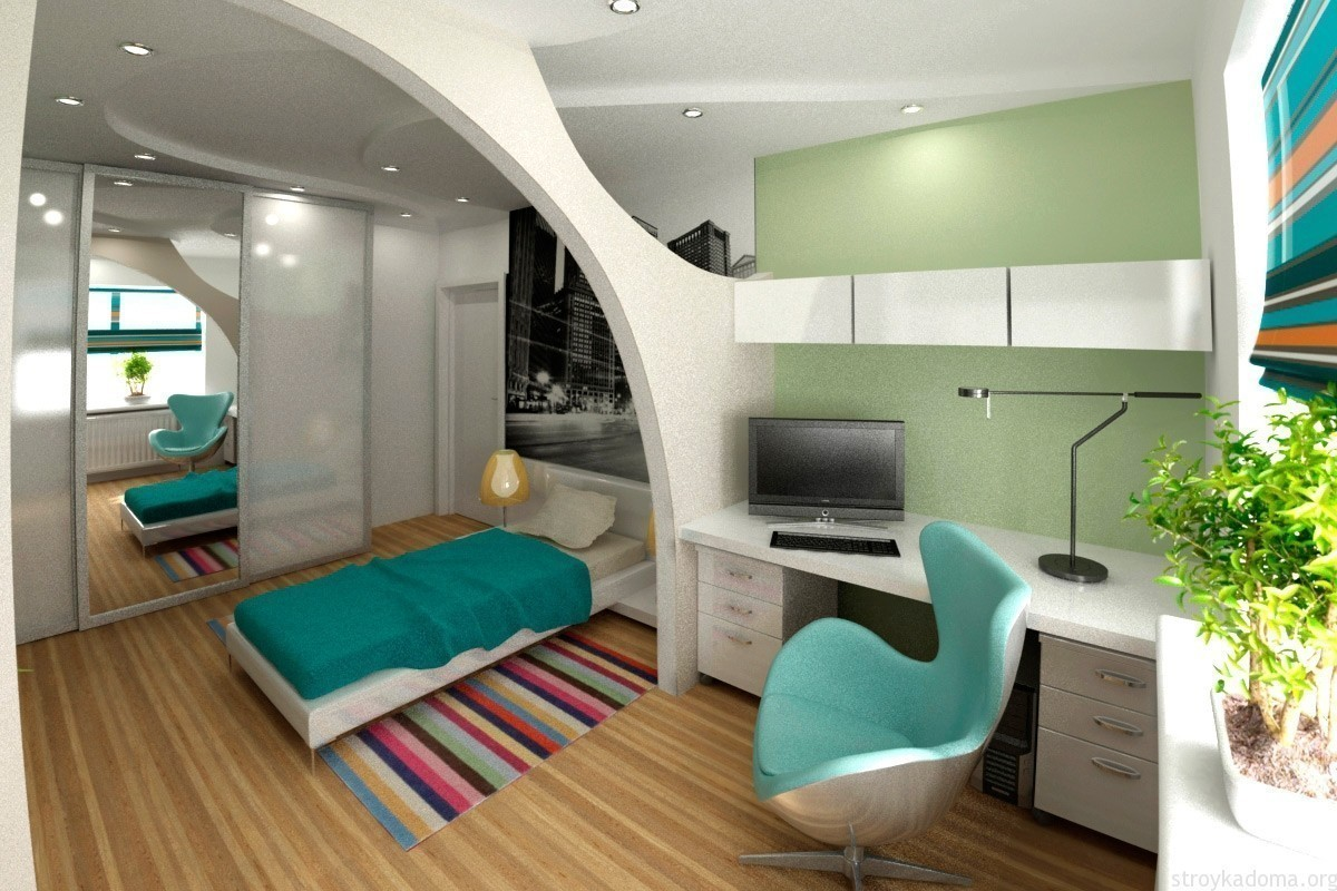 Решения однокомнатных квартир