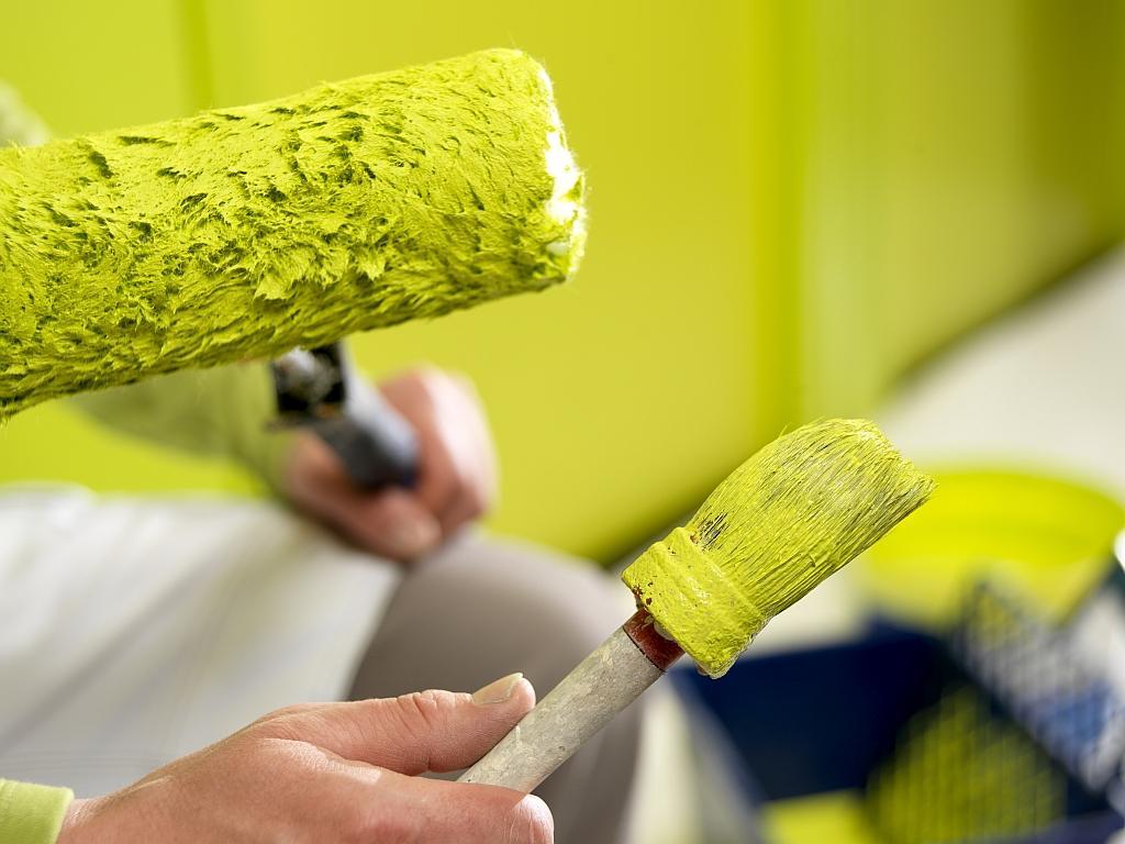 Акриловые краски для стен и потолка