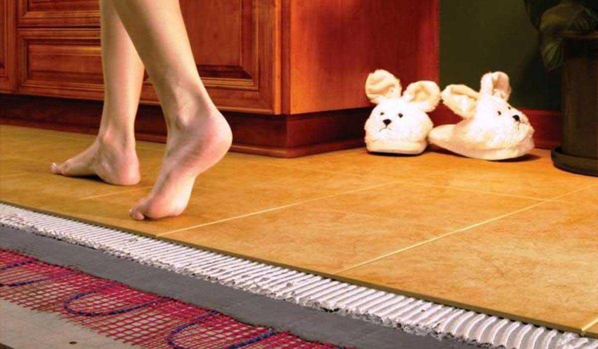 Как сделать теплый пол в квартире электрический