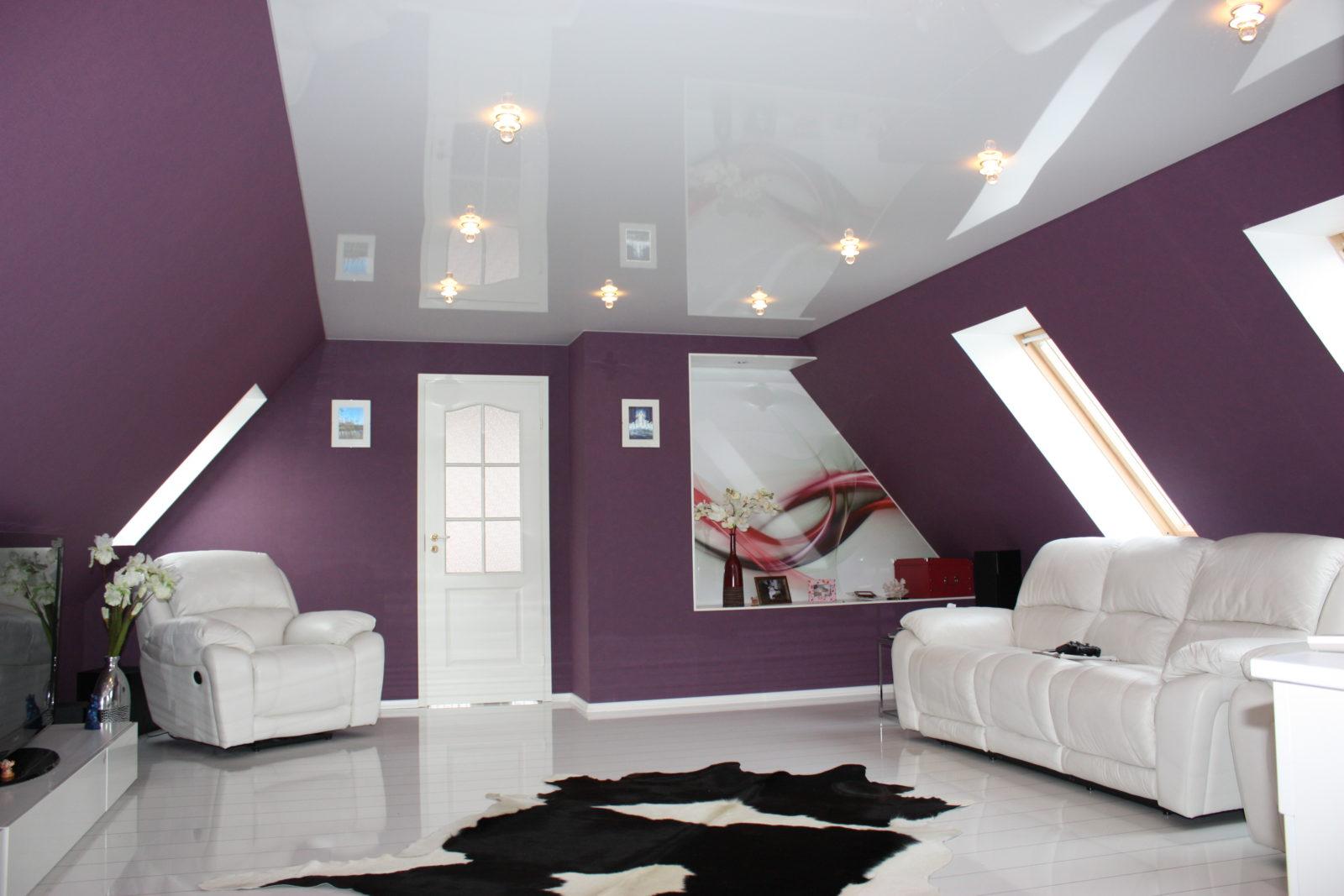 Натяжные потолки – безупречная красота