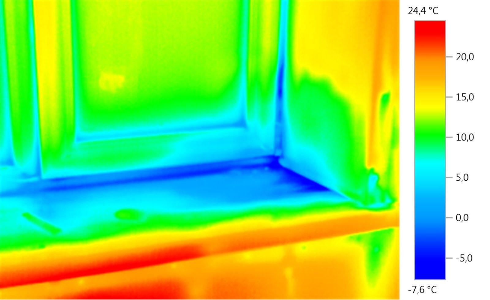 Обследование квартир тепловизором