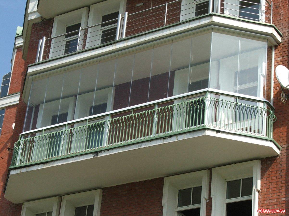Остекление лоджии балкона своими руками или профи