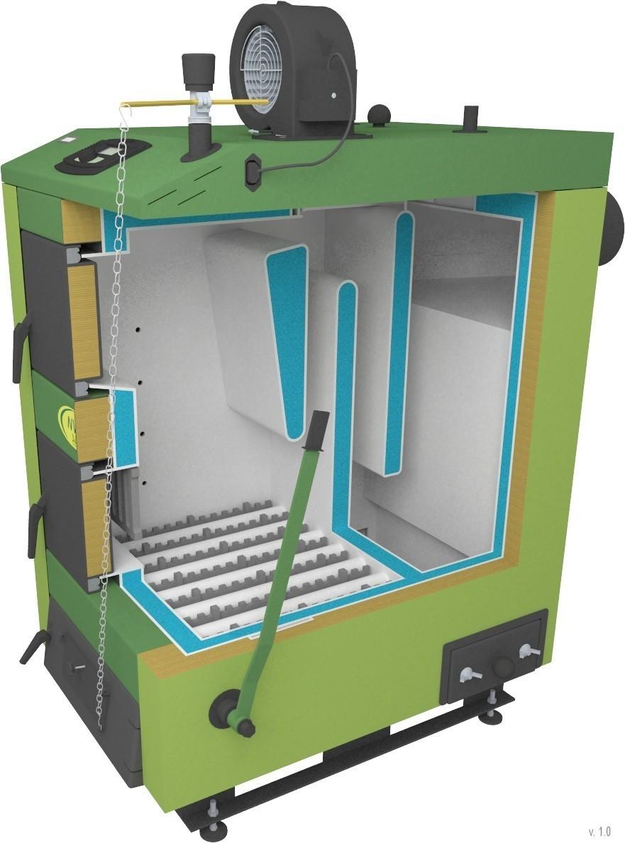 Отопительные котлы на твердом топливе и газовые котлы
