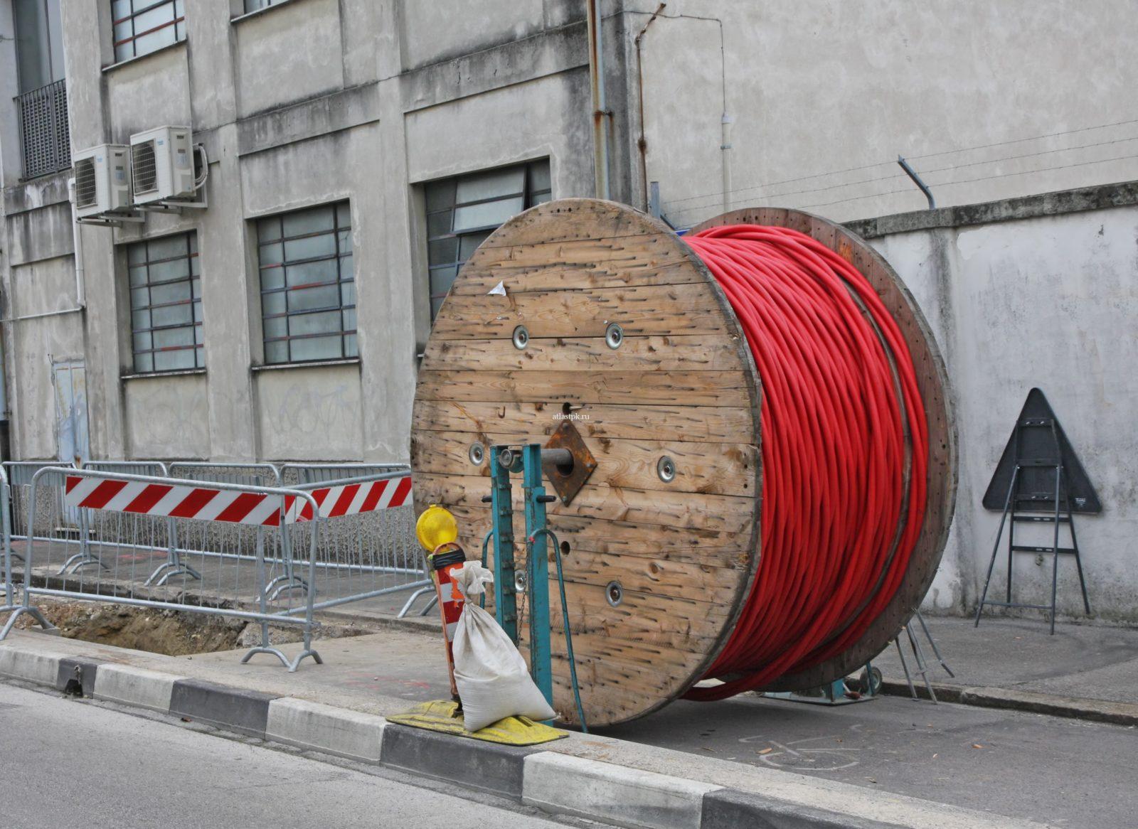 Прокладка силового кабеля1