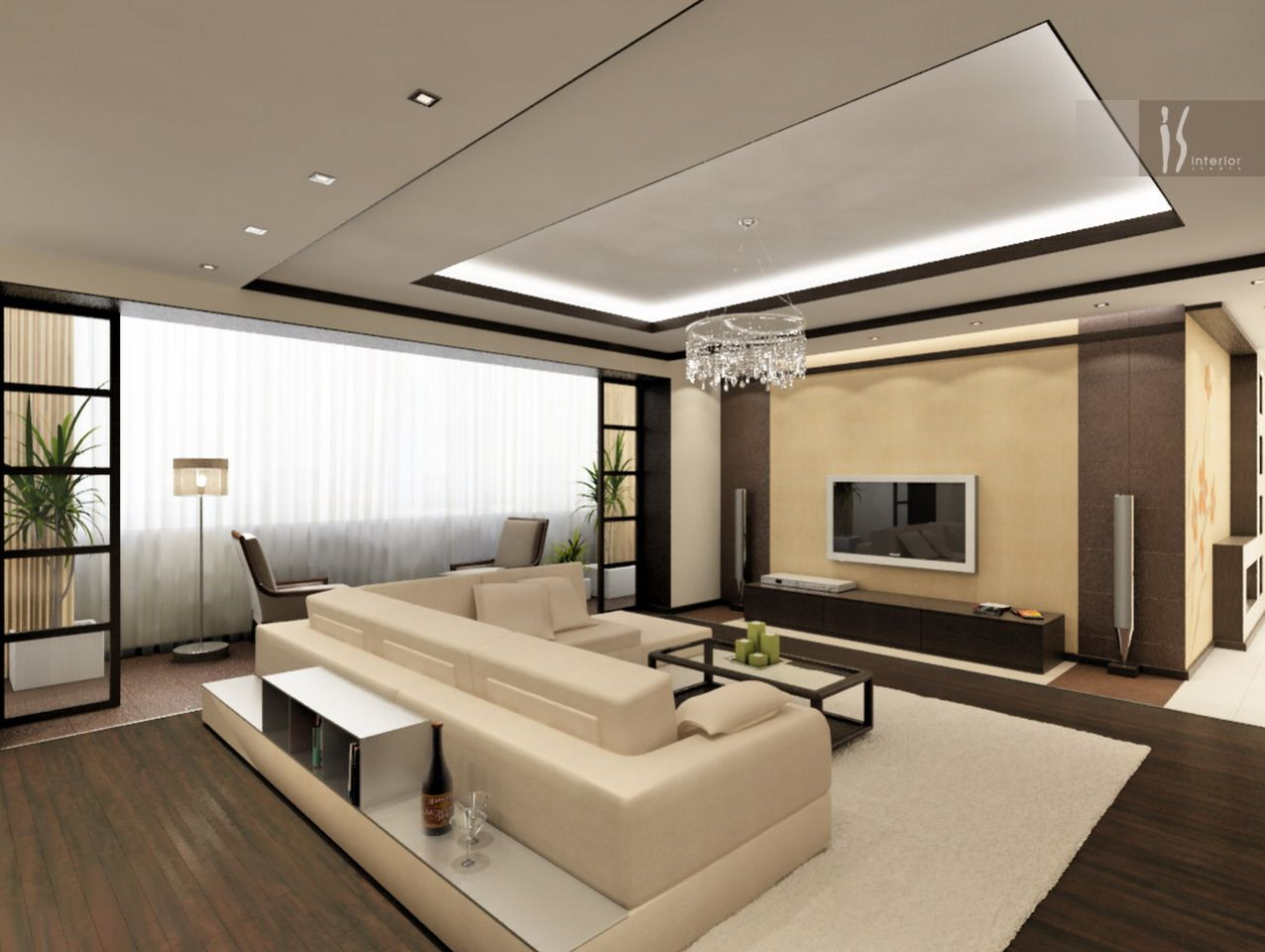 Ремонт и дизайн интерьера гостиной