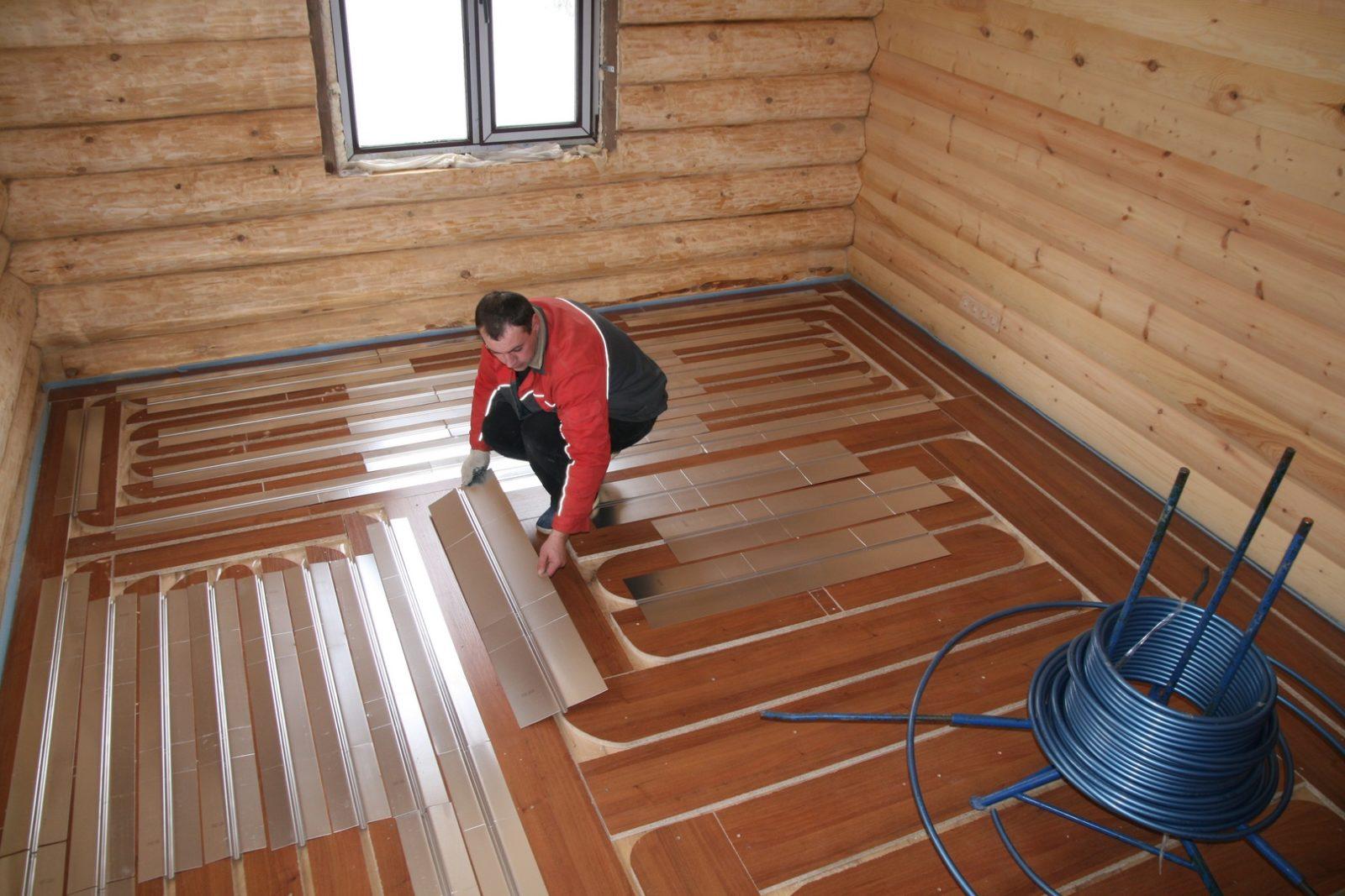 Система отопления деревянного дома