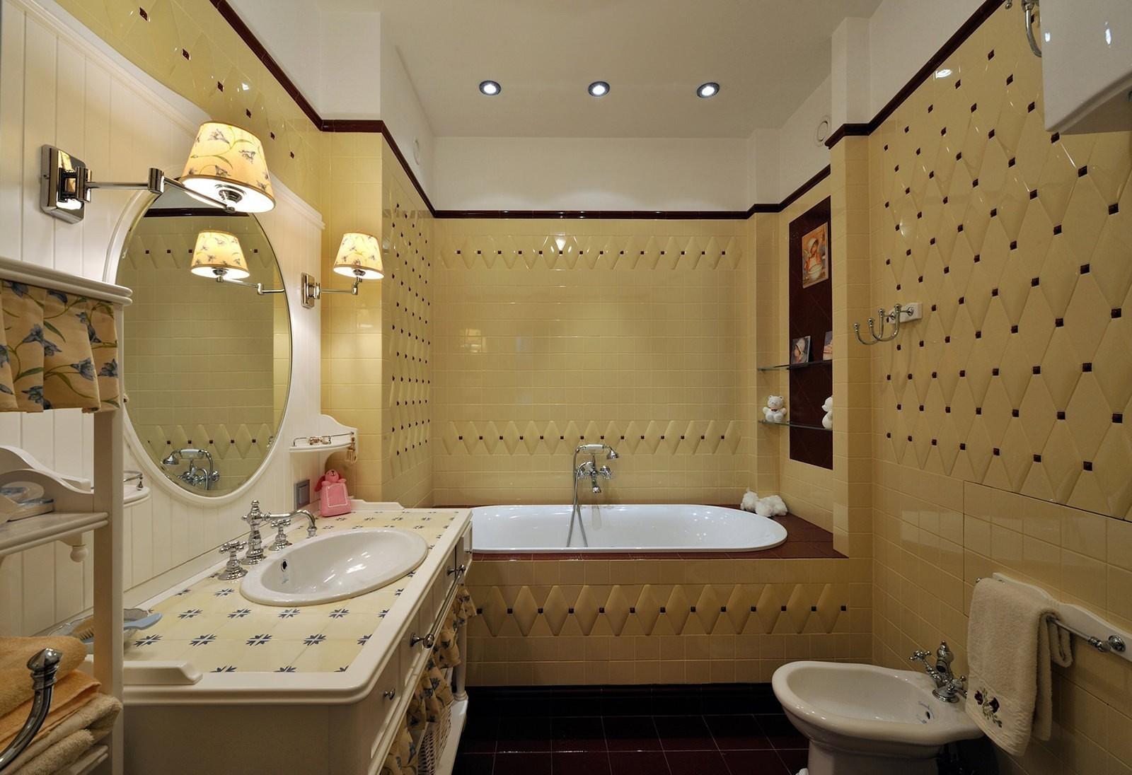 Создание архитектурного стиля ванной