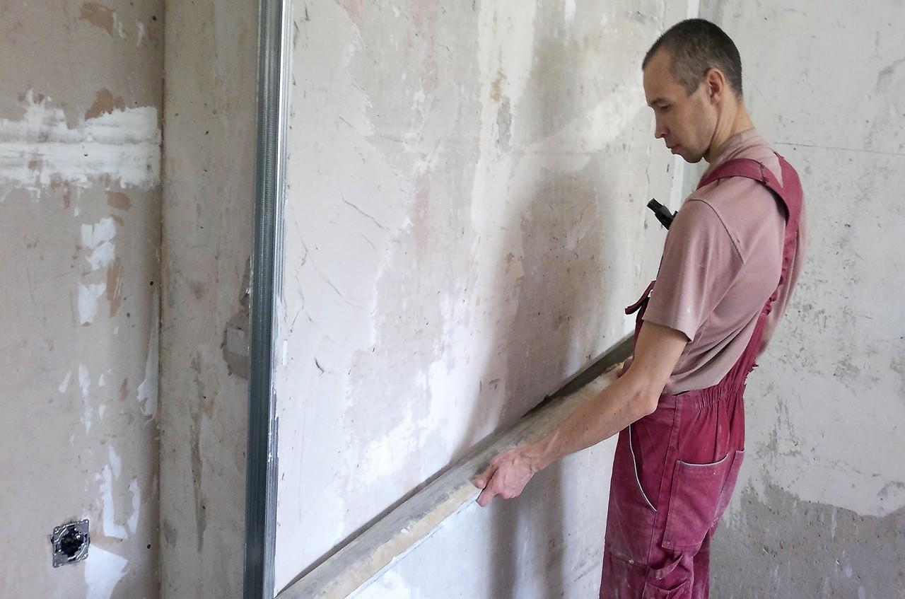 Способы выравнивания стен в квартире