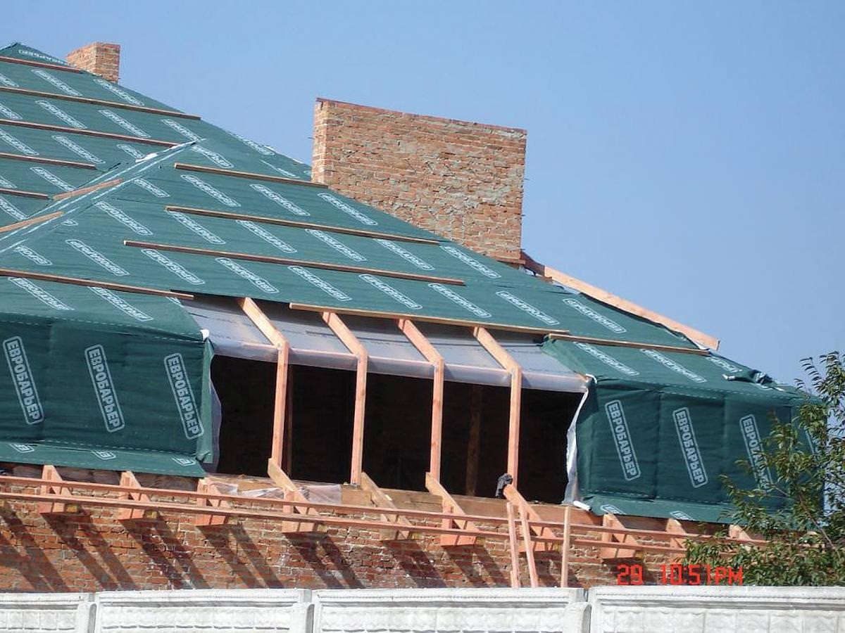 Сухая крыша. Выбираем супердиффузионную мембрану