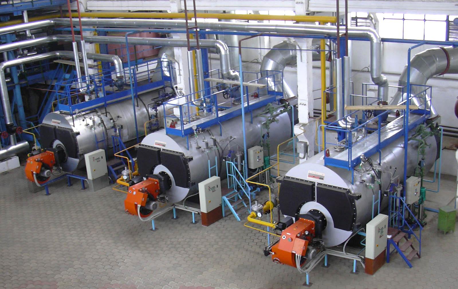 Установка оборудования на промышленном предприятии