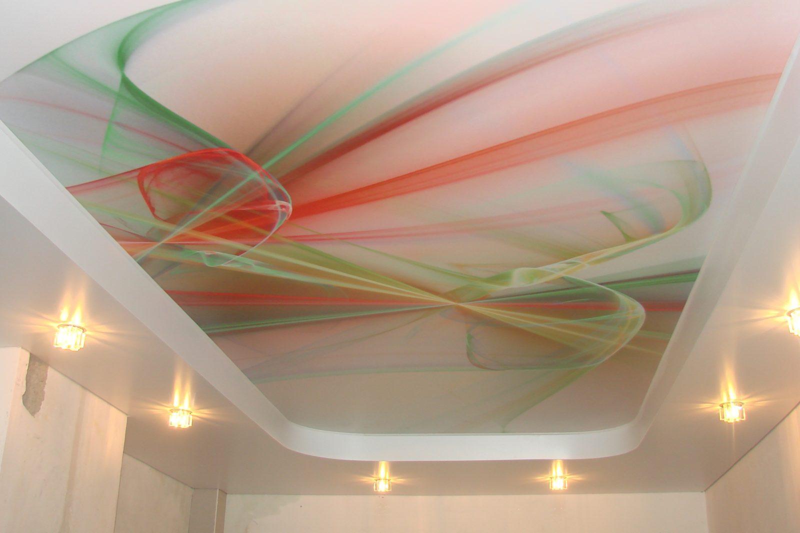 Все о арт-дизайне натяжного потолка