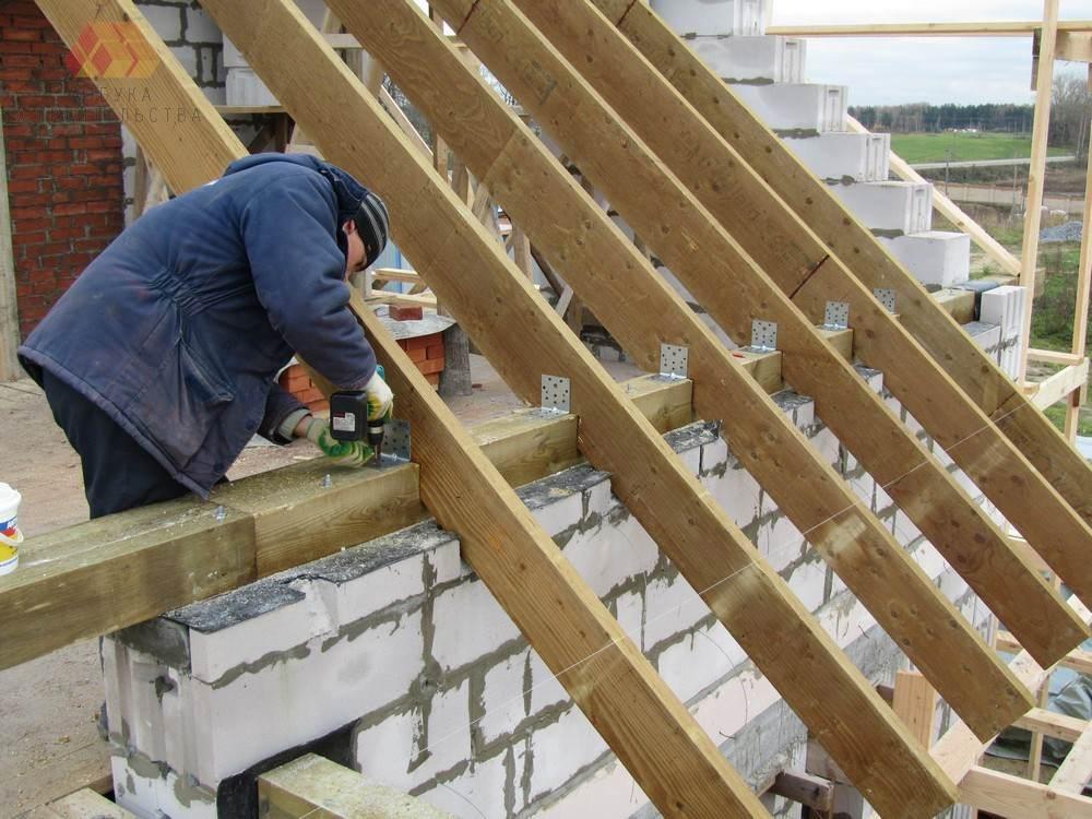 Как строить дом из пеноблока своими руками фотоотчет