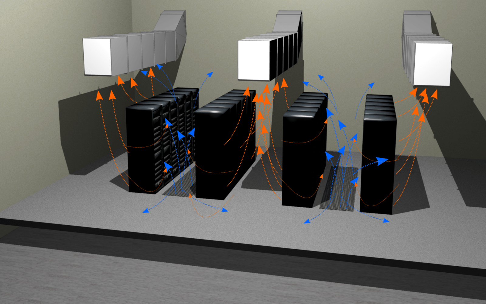 кондиционирования серверных