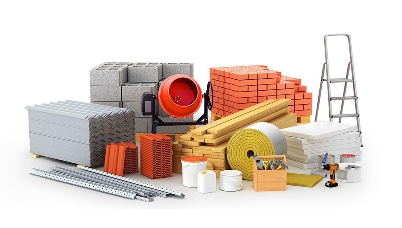 Удельный вес строительных материалов