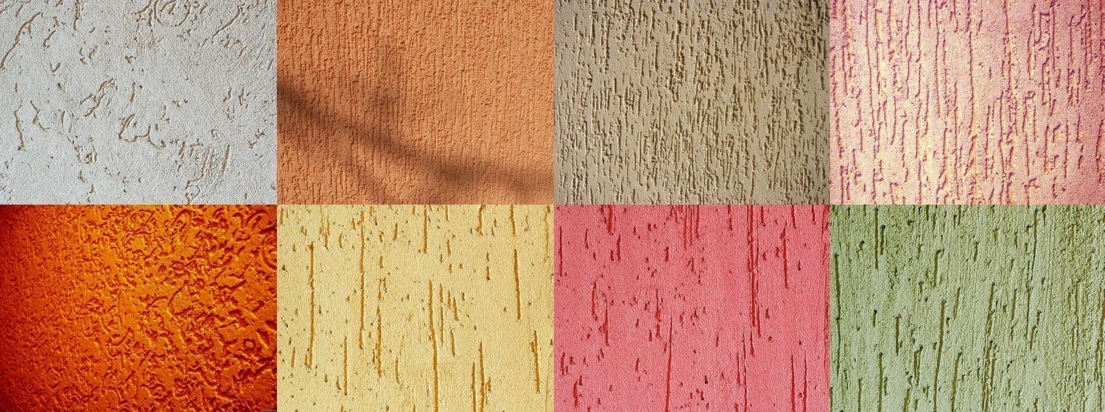 фасадные фактурные краски