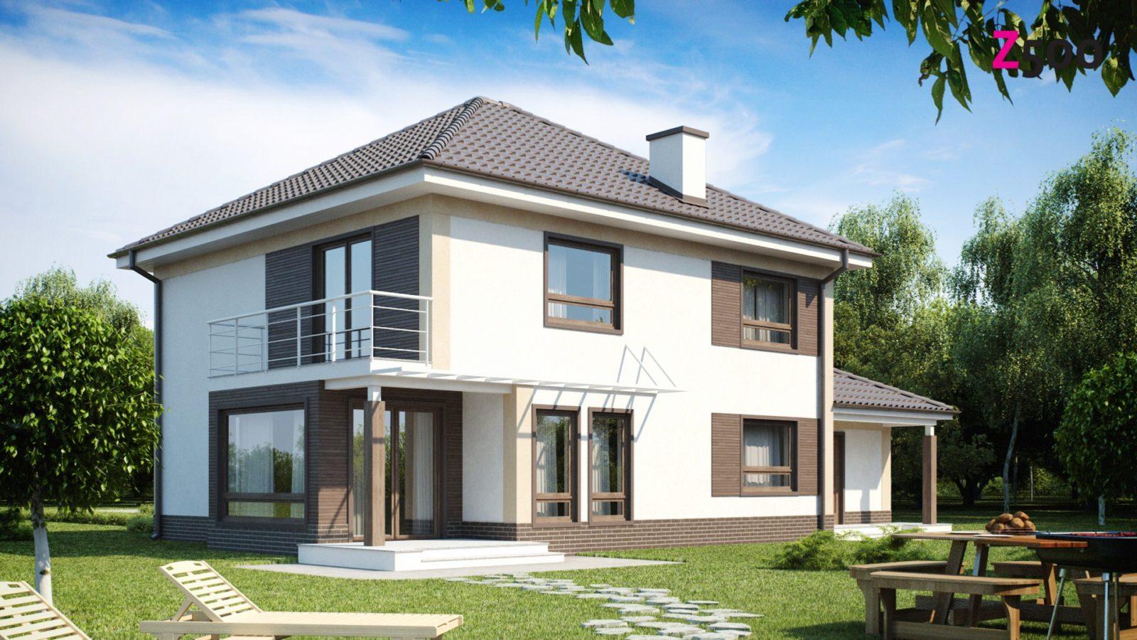Готовые проекты загородных домов