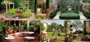 Ландшафтный дизайн в римском стиле