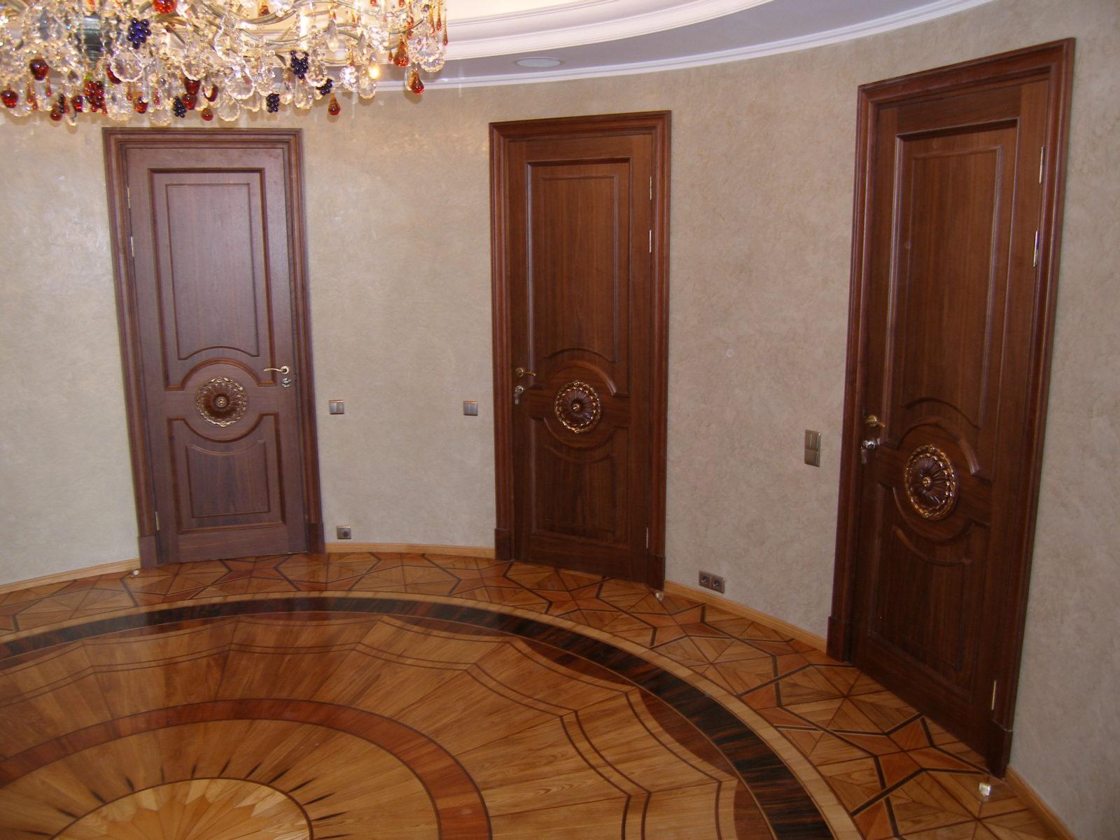 Материал для межкомнатных дверей