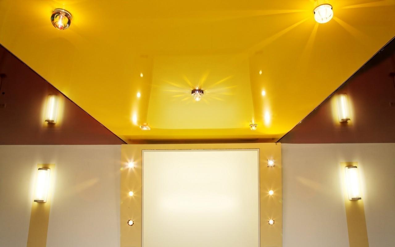Натяжные потолки, уход и качество