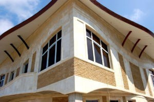 Отделка дома фасадными термопанелями