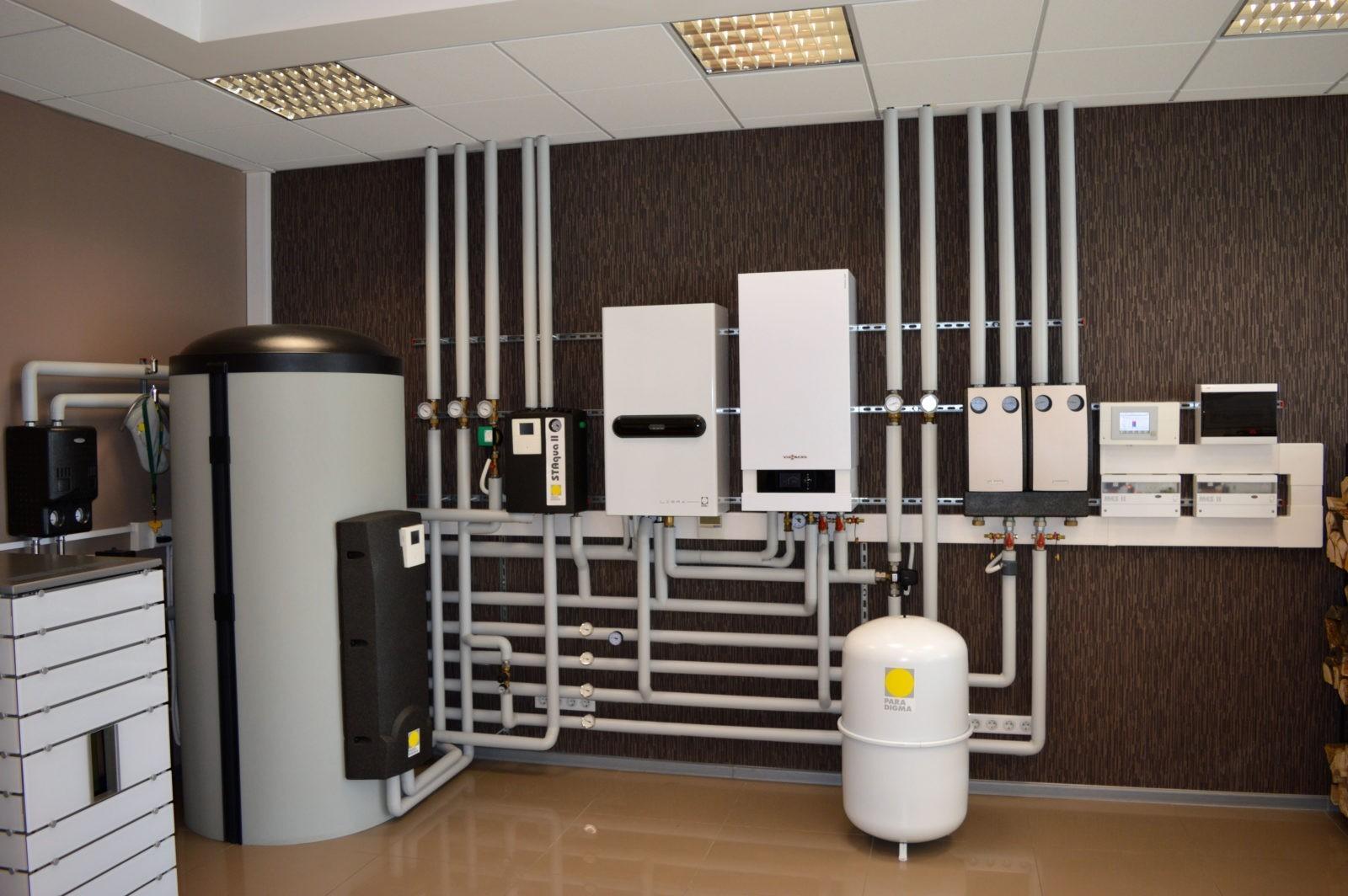 Подготовка газового отопления