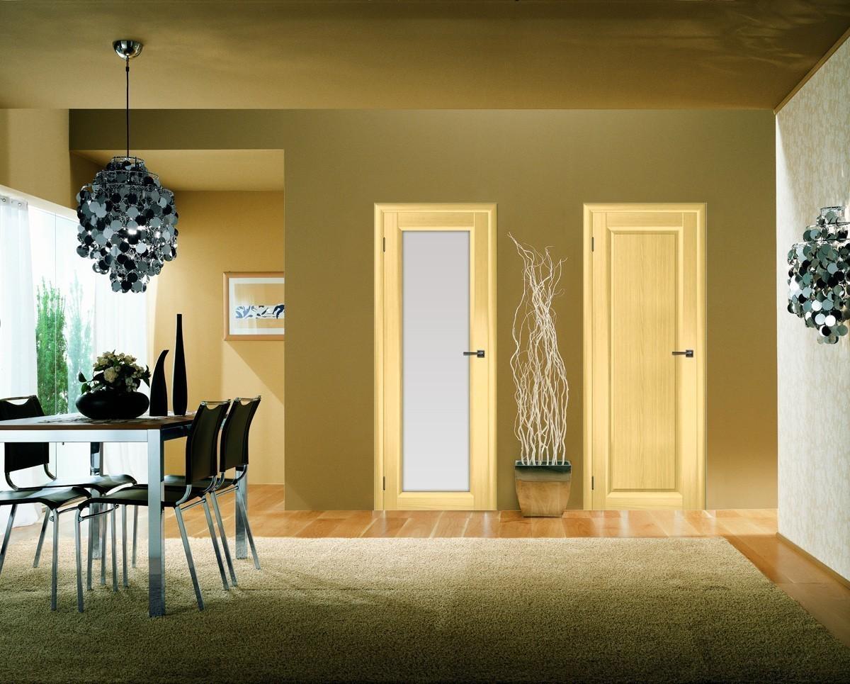 Преимущества ламинированных межкомнатных дверей